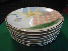 "Great Collectible CHARTER CLUB ""Grand Buffet Gold"" Set of 8 DINNER Plates"