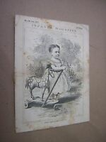 1875. INFANT'S MAGAZINE. ORIGINAL VICTORIAN CHILDREN'S PAPER. SINGLE ISSUE no109