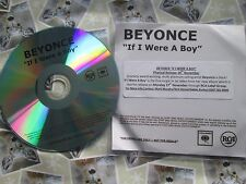 Beyoncé ‎– If I Were A Boy Label: Columbia ‎Records CDr, UK CD Single