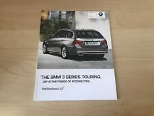 BMW 3 SERIES TOURING SALES BROCHURE 2010 - BRAND NEW