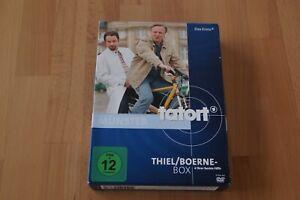 Tatort Münster - Thiel/Boerne Box, 4 DVD's