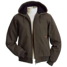 Dri-Duck Women's Cody Brown Tobacco Hooded Canvas Work Jacket Small S New