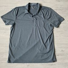 Eddie Bauer quick dry Shirt Polo Short Sleeve Mens Size XL Tall