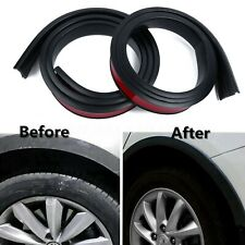 Universal Rubber Car Wheel Arch Protection Moldings Anti-collision Mudguard