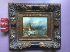Beautiful Old World Style Dutch Painting with gorgeous frame by VAN PEETERS.