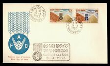 DR WHO 1963 CAMBODIA FOOD AND AGRICULTURE ORG FDC C166143