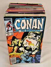 Conan the Barbarian #151-200 Complete Set Comic Lot Marvel 1983-1987