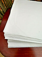 """White Tissue Paper 21"""" x 11"""" Packaging Wrapping 800 Sheet Pack Ecru"""