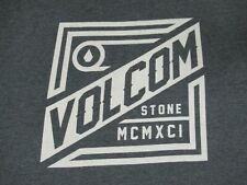 VOLCOM STONE MCMXCI JUMBO GRAPHIC XL GRAY T-SHIRT F315