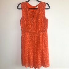 (Anthro) Hi There By Karen Walker Sz 8 Prosecco Polka Dot Dress Pockets Wedding