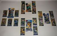 Lot of 21 Assorted / Authentic Pokemon Booster Packs / 4 Different Sets / NEW