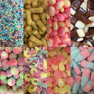 PICK & MIX SWEETS * RETRO CANDY ASSORTMENT * PARTY BAGS * BULK BUY * DISCOUNTED*