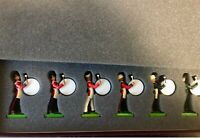 Britain's Soldiers - Bass Drummers 6 Piece Set Number 40022