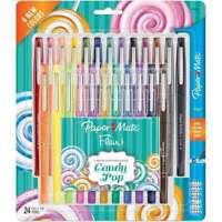 Paper Mate Flair Felt Tip Pens Limited Edition 24/Pkg Assorted 041540009313
