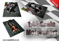 Coastal Kits 1:43 SCALE MOTORSPORT DISPLAY BASES 148 x 105mm