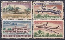 Dahomey C20-23 Mnh1963 Boeing 707 Airplane in Air at Airport on Ground Full Set