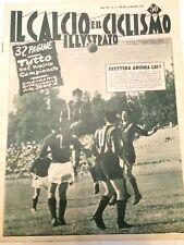 Il calcio e il ciclismo illustrato 1953 N 37 Foto Schede Squadre Serie A 17/8/15