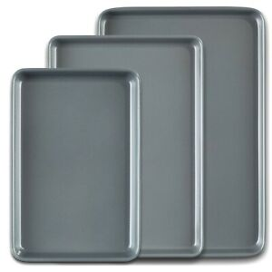 Prochef Premium Bakeware Non Stick Baking Trays Oven Sheets Roasting Cooking