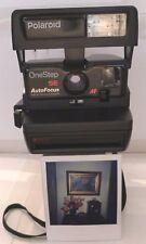 Polaroid Instant Film Camera 600 Autofocus SE Special Edition TESTED