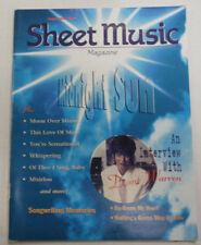 Sheet Music Magazine Midnight Sun & Diane Warren July/August 1997 012615R