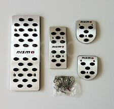 nismo Aluminium Fuel Brake Foot MT Pedals For Nissan Qashqai Versa Tiida Livina