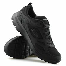 Womens Skechers Summits Lace Up Memory Foam Walking Sports Trainers Shoes Size