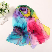 Fashion Women Long Soft Wrap scarf Ladies Shawl Scarf Scarves Purple