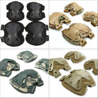 Sports Tactical Airsoft Army Protector Knee Pads Combat Skate Paintball Hunting