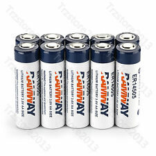 Branded 2400mAh 10 PCS Li-on 3.6V AA ER14505 LS14500 ER14505H Li-SOCl2 Battery