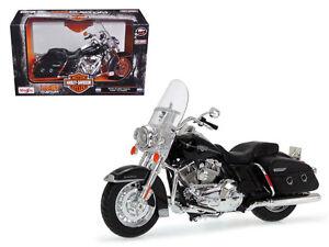 2013 HARLEY DAVIDSON FLHRC ROAD KING CLASSIC BLACK 1/12 MOTORCYCLE MAISTO 32322