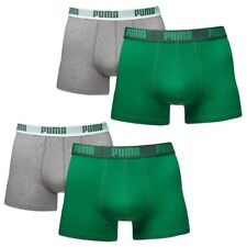 Pack of 4 PUMA BOXER SHORTS/Amazon Green/ Size M / Men's Underpants