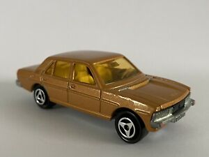 Majorette - Orange/Gold Peugeot 604 No.238. (1982) 1:60 Scale. Made in France