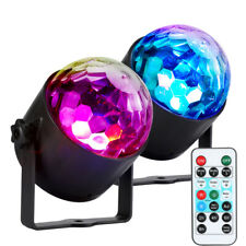 Rechargeable DJ Rotating Ball LED Stage Laser Lighting Disco Dance Club Party
