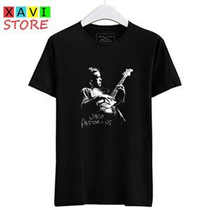 Jaco Pastorius Guitarist Men's Black T-Shirt Tees Size S-3XL
