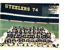 1974 PITTSBURGH STEELERS SUPER BOWL  TEAM  8X10 PHOTO FOOTBALL HOF NFL