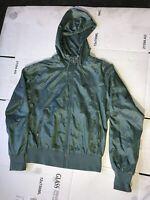Women's Nike Sportswear Windrunner Jacket Olive Green Mesh Lined Size MEDIUM