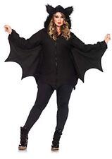 Leg Avenue Cozy Bat Costume Size 3X - 4X, Black