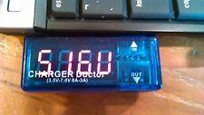 USB Charger Doctor Current Voltage Detector Battery Tester Meter UK SELLER