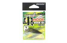 Decoy Worm 164 Insect and Surface Worm Hooks Size 2 (4635)