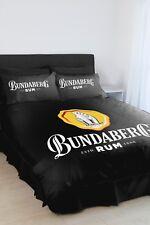 Bundy Bundaberg Rum QUEEN Bed Quilt Doona Duvet Cover Set NEW 2018 Gift