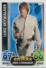 Star Wars Force Attax : Force Awakens Set 1 #1 Luke Skywalker