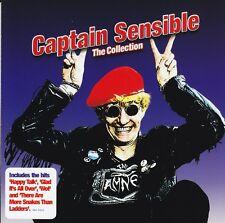 CAPTAIN SENSIBLE - THE COLLECTION CD ( I SAID CAPTAIN, I SAID WOT ) *NEW*