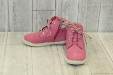 Timberland Kids Toddle Tracks Nubuck Boots, Little Girl's Size 10.5, Pink