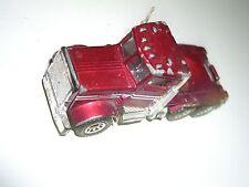 1981 VINTAGE Matchbox 1:80 Scale Peterbilt Truck RED DIE CAST TOY