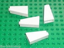 LEGO white slope brick 4460 / sets 10212 10198 7186 6542 6990 10173 6263 ...