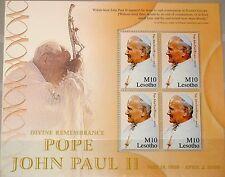 LESOTHO 2005 Klb 1956 MS 1371 Pope John Paul II Papst Johannes Paul II Religion