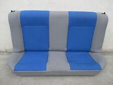 Rücksitzbank VW Polo 6N2 2-Türig Rückbank Austattung Stoff grau / blau