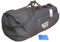 Large Black Jumbo Travel Shoulder Sports Big Holdall Equipment Kit Flight Bag