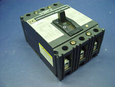 Square D Molded Case Thermal-Magnetic Circuit Breaker 3-Pole 480V 30A FAL34030