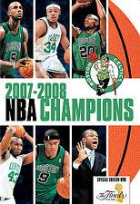 NBA Champions 2007-2008 (DVD, 2008) Boston Celtics NEW Basketball